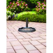 Mainstays Willow Springs Umbrella Base, Black Finish