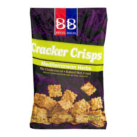 Beigel Beigel Cracker Crisps Mediterranean Herbs pack of 3 10.6 oz
