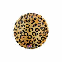 Cheetah Print Round Mylar Balloon by US Balloon - 806279
