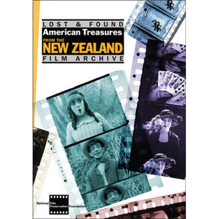LOST & FOUND-AMERICAN TREASURES FROM THE NEW ZEALAND FILM ARCHIVE(DVD/SILEN (A Home Away From Home Alfred Hitchcock)