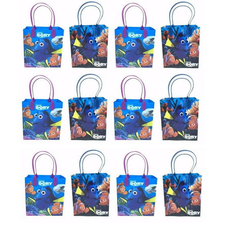 LWS LA Wholesale Store  12 pcs FINDING NEMO DORY CANDY BAGS GOODY LOOT PARTY FAVORS DISNEY BIRTHDAY - Birthday Party Stores