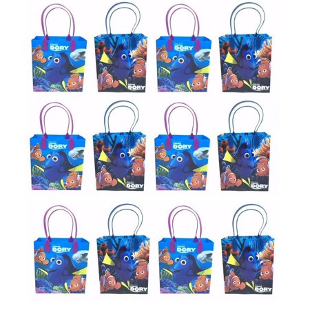 LWS LA Wholesale Store  12 pcs FINDING NEMO DORY CANDY BAGS GOODY LOOT PARTY FAVORS DISNEY BIRTHDAY