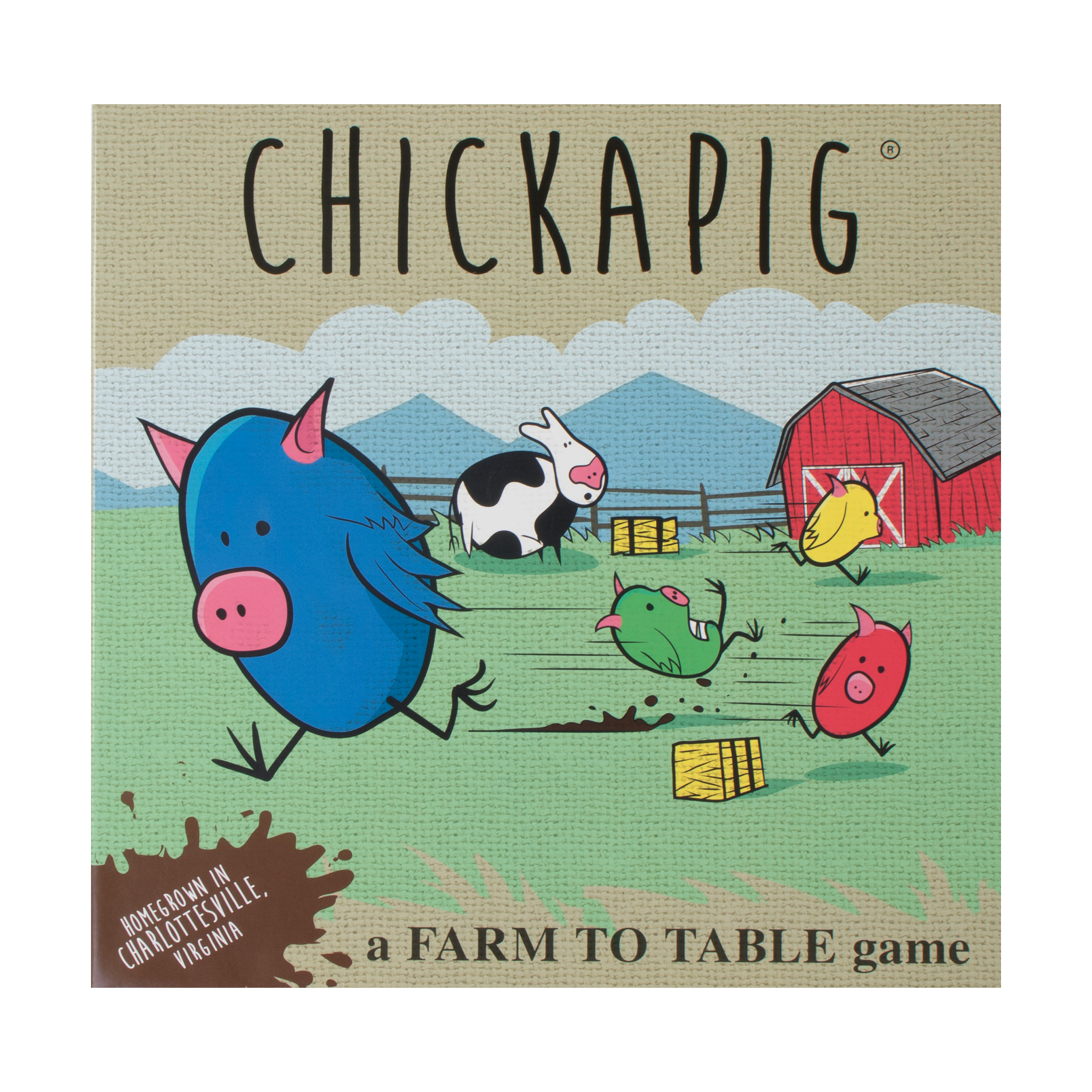 Buffalo Games Chickapig Board Game