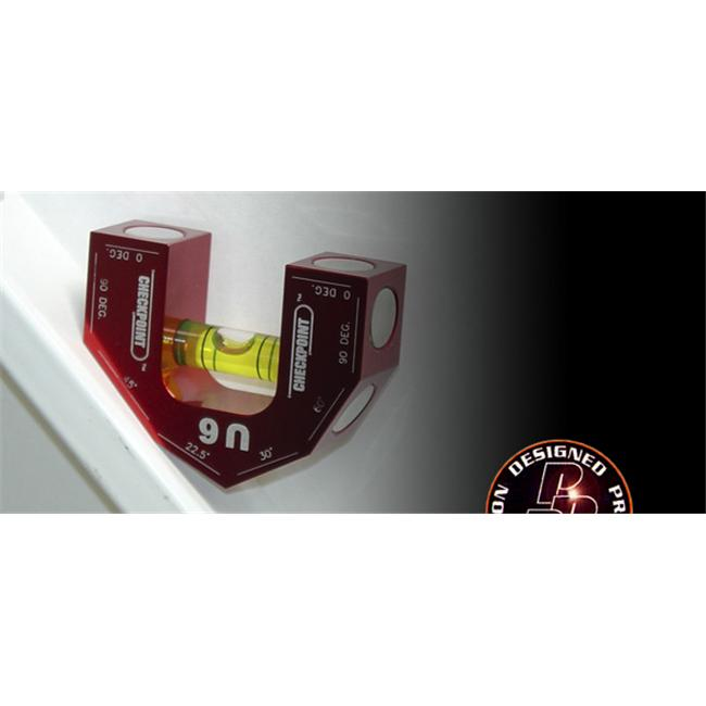Checkpoint 600BK Checkpoint Torpedo Level U6 Flat with Magnets - Black