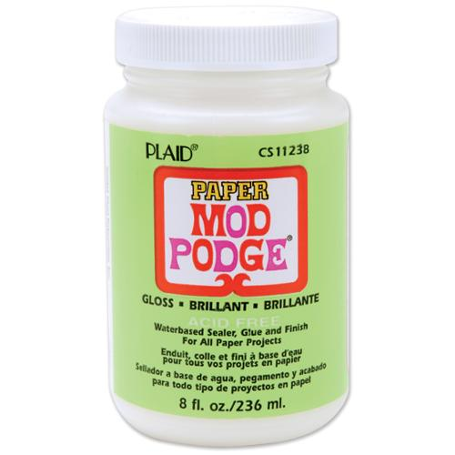 Mod Podge Paper Gloss Finish-8 Ounces
