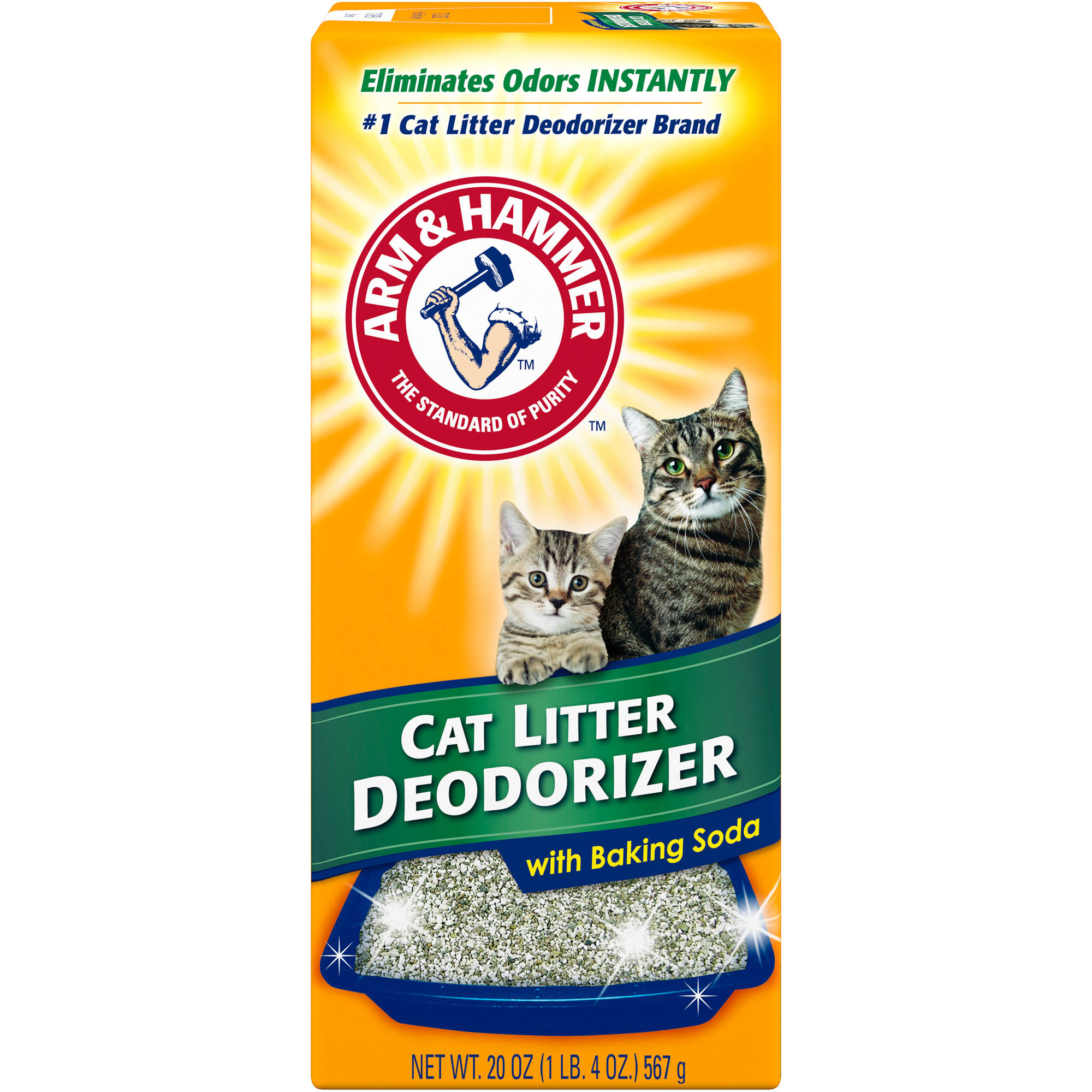 ARM & HAMMER Cat Litter Deodorizer Powder 20oz