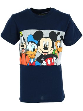 Jerry Leigh Disney Kids' Fab Four Mickey and Friends Tee