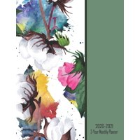 2020 2021 2 Year Monthly Planner: Large 24 Month Planner Organizer: Contact Pages, Vision Boards (doodle pages) Notes & More: January 2020 Through December 2021: Cotton Tree Nature Cover (Paperback)