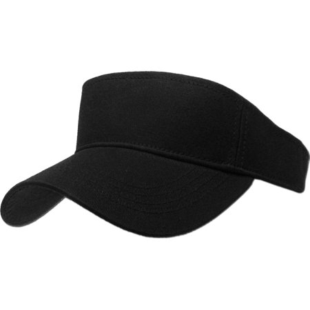 - Sun Visor Plain Hat Sports Cap Golf Tennis New Adjustable Men Women