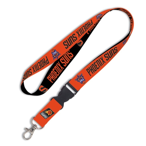 Phoenix Suns WinCraft Wordmark Lanyard with Detachable Buckle - No Size