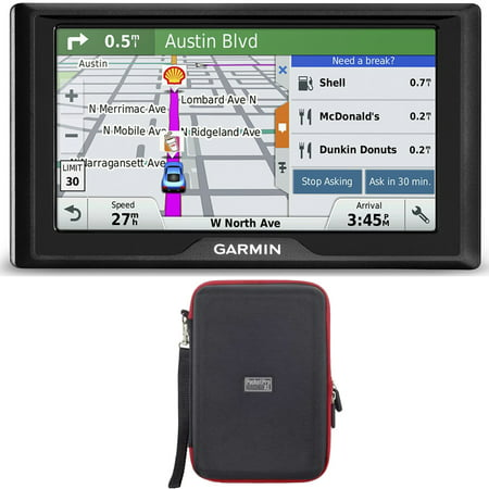 Garmin Drive 60LM GPS Navigator (US) 010-01533-0C Hardshell Case Bundle includes GPS and PocketPro XL Hardshell Case