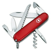 Victorinox Swiss Army Camper Pocket Knife, Red