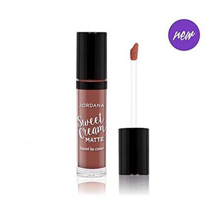 Jordana Sweet Cream Matte Liquid Lip Color Cinnamon Toast MLC-22