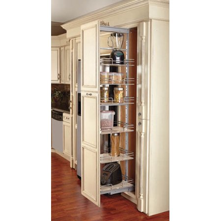 Rev A Shelf 9 Inch Soft Close Extra Tall Pullout Maple Pantry 5273 09 Mp