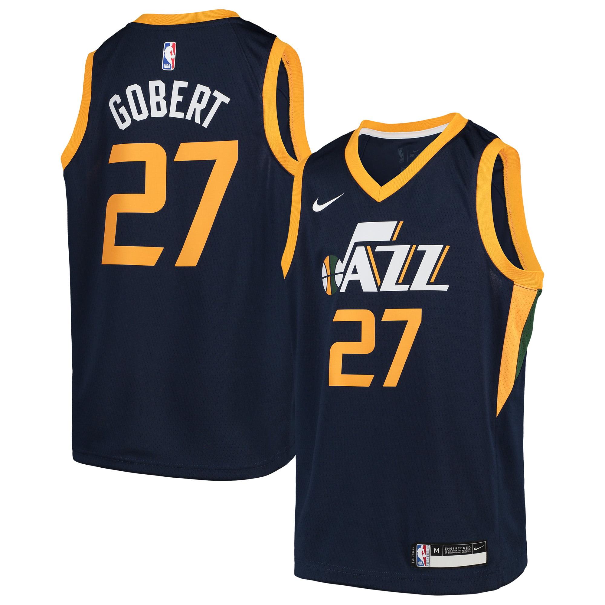 438ba58e4 Rudy Gobert Utah Jazz Nike Youth Swingman Jersey - Navy - Icon Edition -  Walmart.com