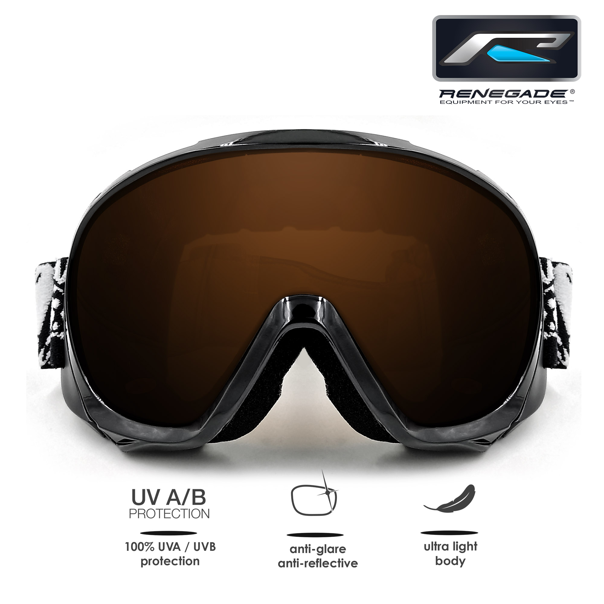 Renegade Rski-Lg16 Ski Goggle by Greatland Ent. Co., Ltd.