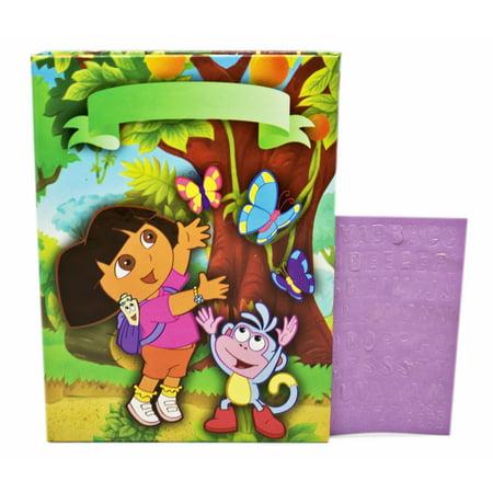 Dora the Explorer Boots and Dora in the Rainforest Kids Photo Album