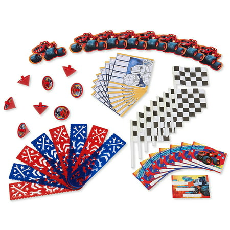Blaze and the Monster Machines Party Favor Value Pack, 48pc