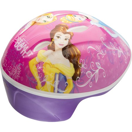 Bell Disney Princesses Rule Bike Helmet, Pink/Purple, Toddler 3+ (48-52cm)