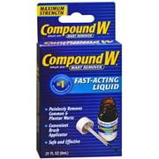 Compound W Maximum Strength, Fast-Acting Liquid 0.31 oz (Pack of 2)