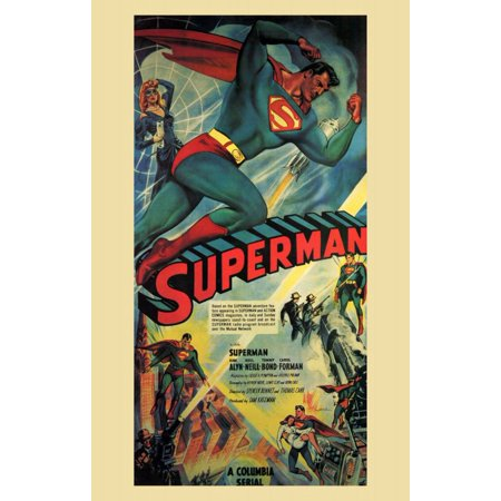 superman 1948 11x17 movie poster walmart com