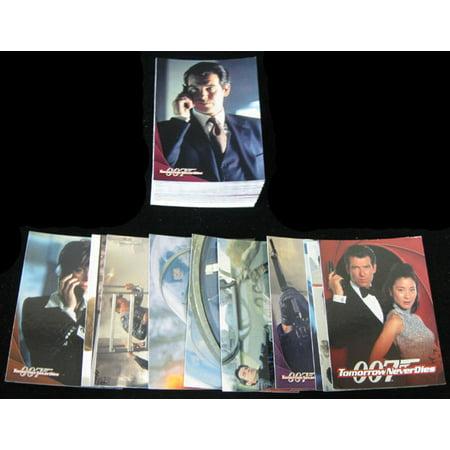 1997 Inkworks James Bond 007 Tomorrow Never Dies Trading Card Set (90) Nm/Mt