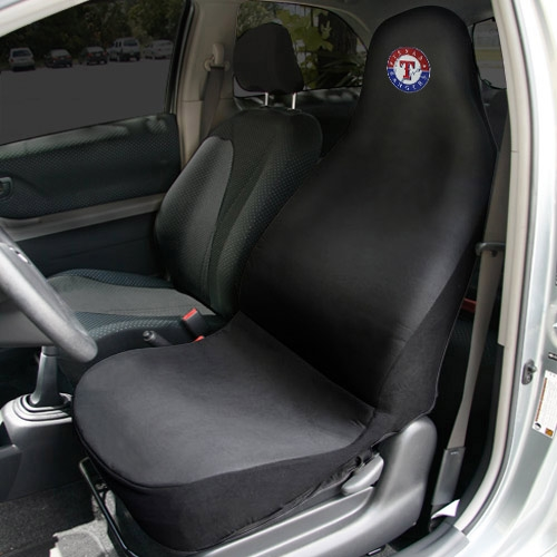 Texas Rangers Car Seat Cover - Black - No Size
