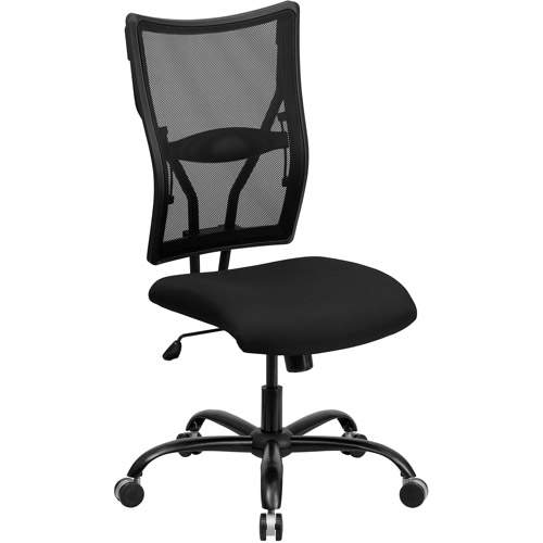 flash furniture hercules series big and tall mesh office chair black