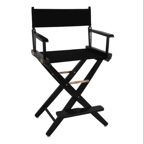 Premium Directors Chair with Black Frame