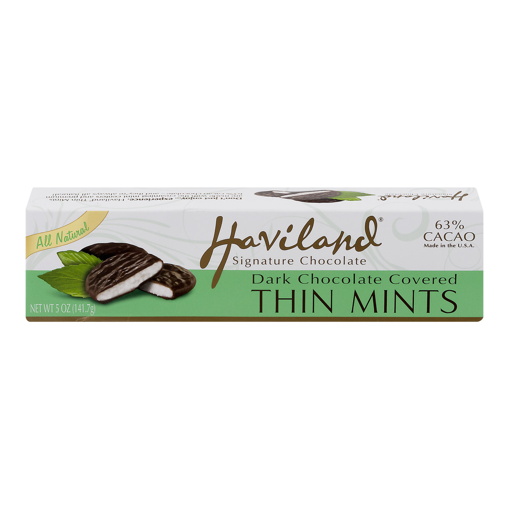Haviland Dark Chocolate Covered Thin Mints, 5.0 OZ