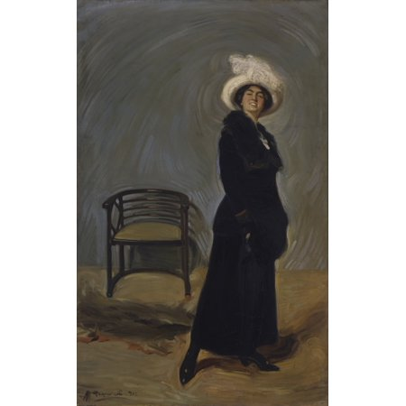 Portrait Of Ida Vicentini Stretched Canvas -  (18 x 24)