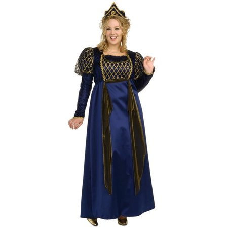 Renaissance Queen (Renaissance Queen Plus Size Adult Costume - Plus)