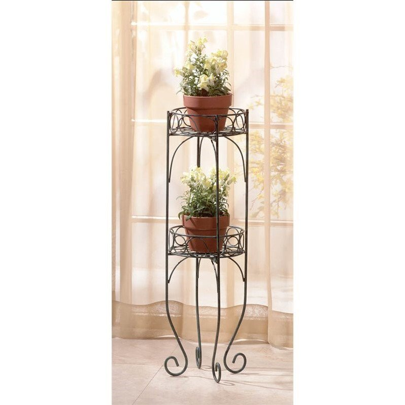 Zingz and Thingz Two-Tier Plant Stand by Zingz & Thingz