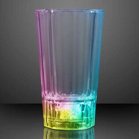 Led Shot Glasses (FlashingBlinkyLights Liquid Activated Color Changing LED Shot)