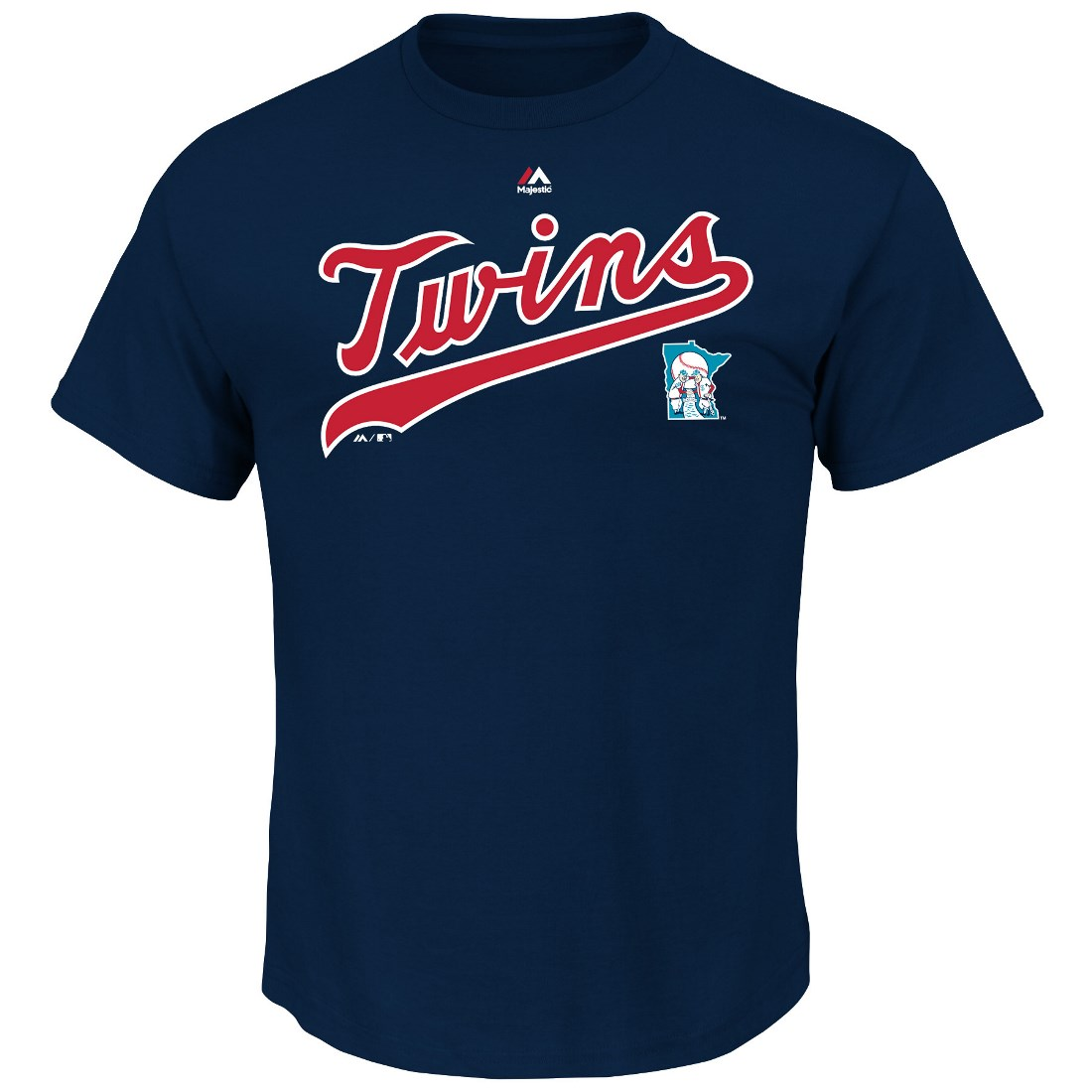 """Minnesota Twins Majestic MLB """"Series Sweep"""" Cooperstown Men's S/S T-Shirt"""