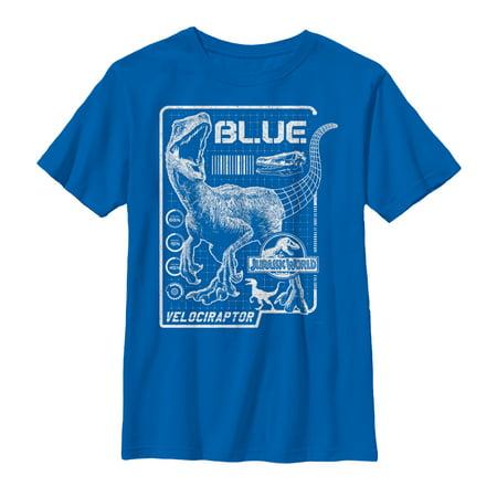 Jurassic World: Fallen Kingdom Boys' Jurassic World Fallen Kingdom Blue Details T-Shirt](Boys Kingdom)