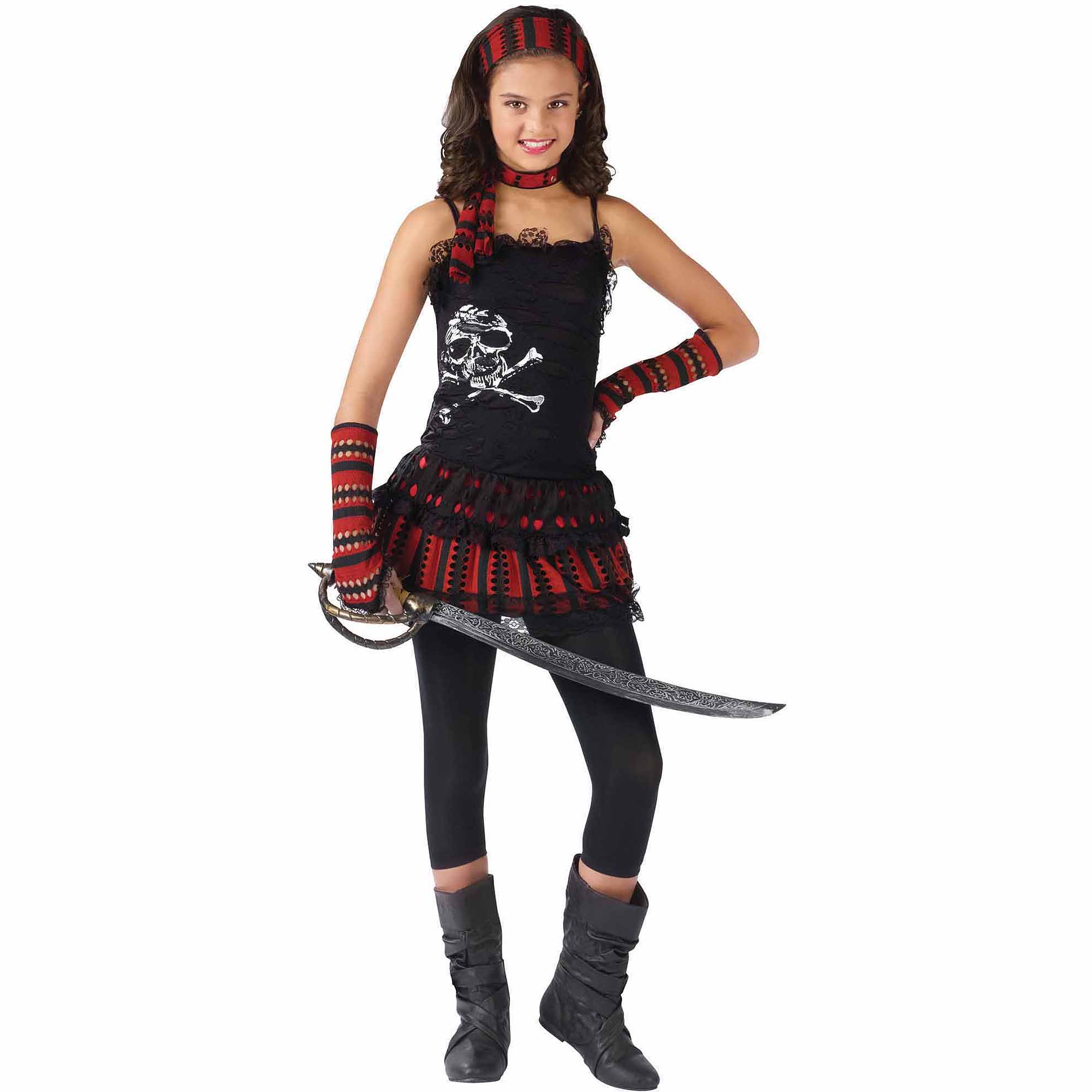 Pirate Skull Rocker Child Halloween Costume by Fun World