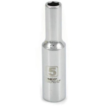 0.25 in. Drive Master Mechanic 5 mm Deep Well Socket