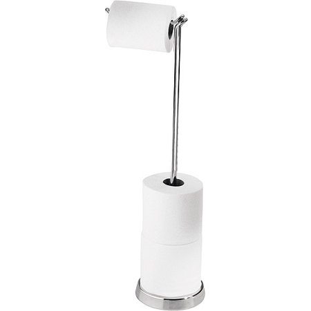 toilet tissue stand chrome finish. Black Bedroom Furniture Sets. Home Design Ideas