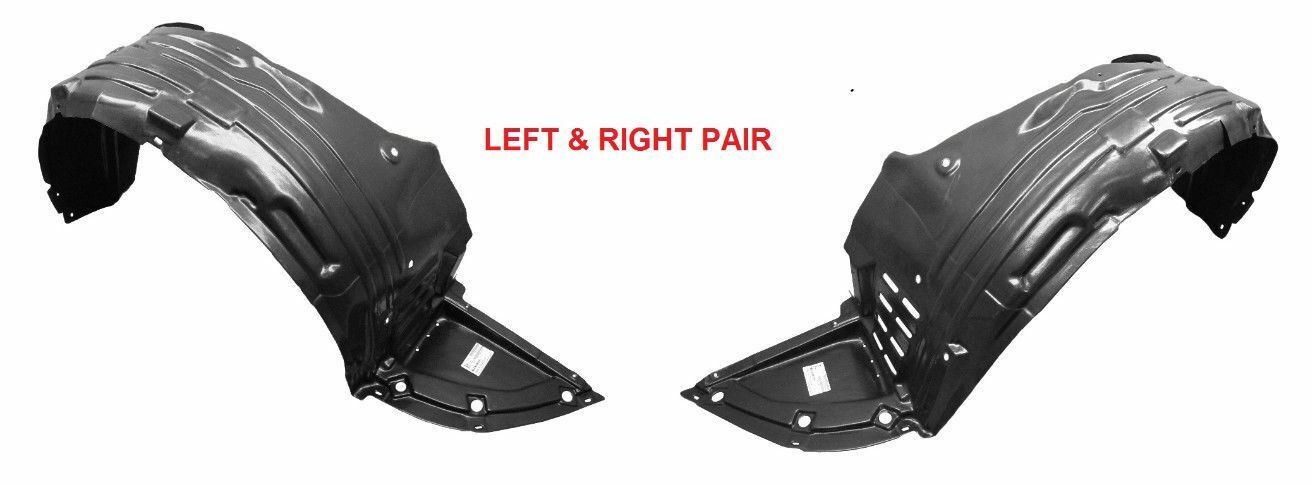 New Front Left and Right Pair FENDER LINER For Nissan Maxima