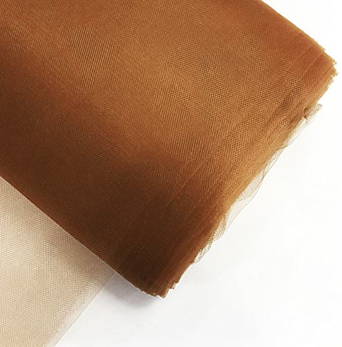 """Craft and Party, 54"""" by 40 yards (120 ft) fabric tulle bolt for wedding and decoration"""