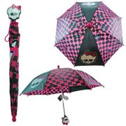 Umbrella - Monster High - Black/Pink New Gift Toys Kids Girl Licensed mgr45993st