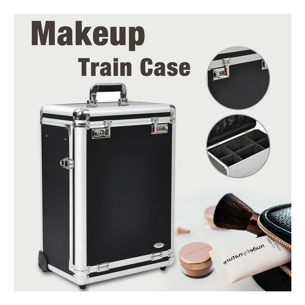 Aw Rolling Makeup Case With Drawers