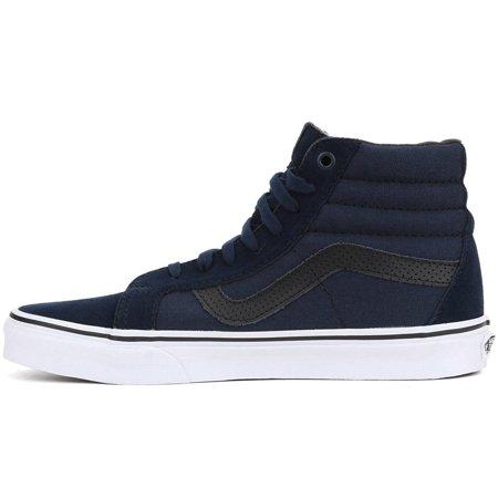 abe9fc88464a01 Vans - Vans Sk8-Hi Reissue (C P) Unisex Dress Blues Bla Shoes - Walmart.com