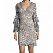 Women Lace Bell-Sleeve Sheath Dress $245 14