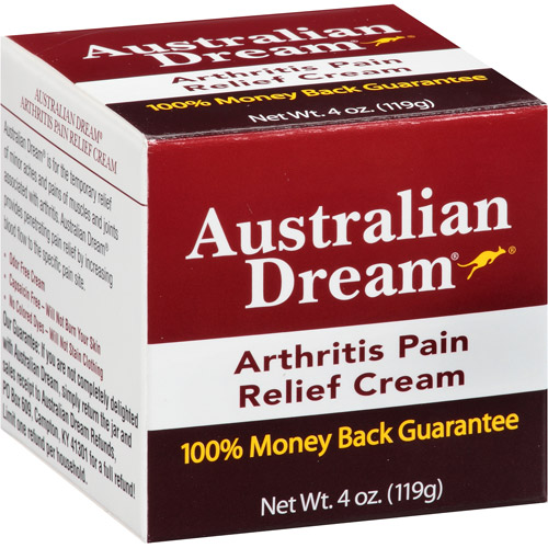 Australian Dream Arthritis Pain Relief Cream, 4 oz