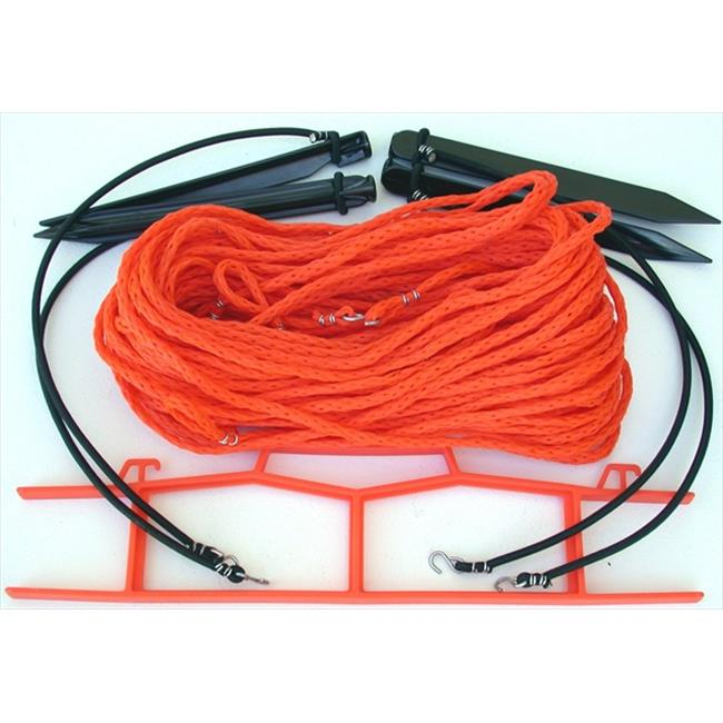 Home Court 25OS Orange .25-inch rope Non-adjustable Courtlines
