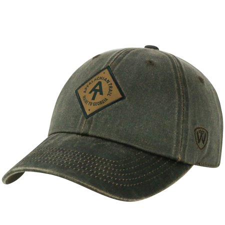 c6f0b9eb Appalachian Trail Conservancy Official Adjustable Primitive Hat Cap Curved  Bill by Top of the World 288161 - Walmart.com