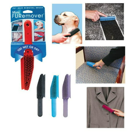 Evriholder Mini FURemover Pet Hair Removal Brush (Assorted Colors)