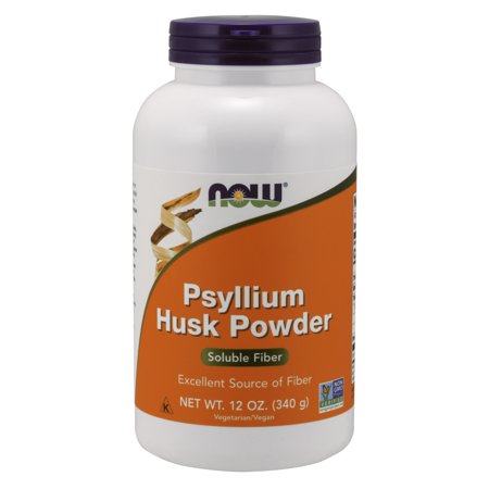 NOW Supplements, Psyllium Husk Powder, 12-Ounce